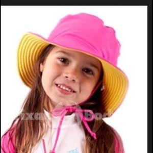 Reversible Pink/Yellow Sun Hat